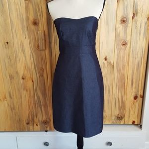 Merona denim strapless dress